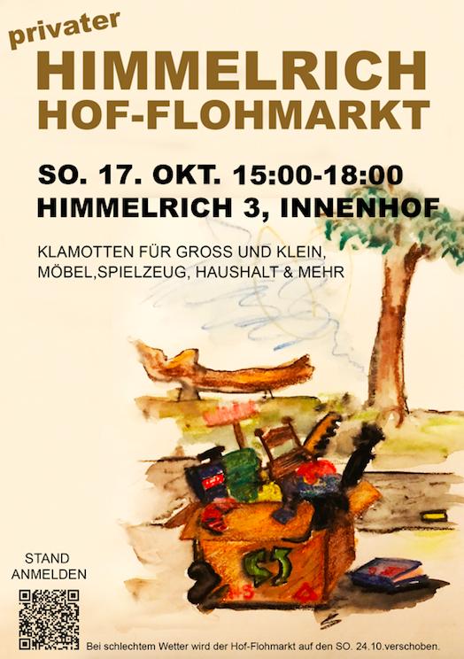 Hi3 Oktober-Hof-Flohmarkt